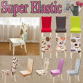 Case chair cover stretch wedding home outdoor furniture dining office computer chair lycra elastic kitchen spandex chair covers