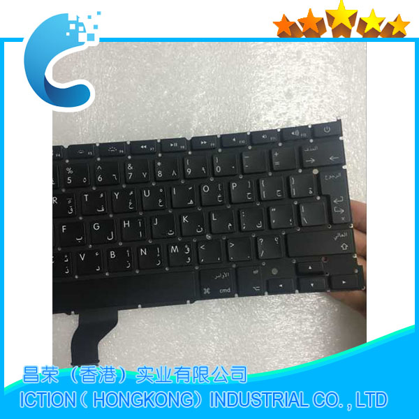 New Original A502 Keyboard Arabic for Macbook Pro Retina 13 A1502 Arabic keyboard 2013 2014 2015 Years image