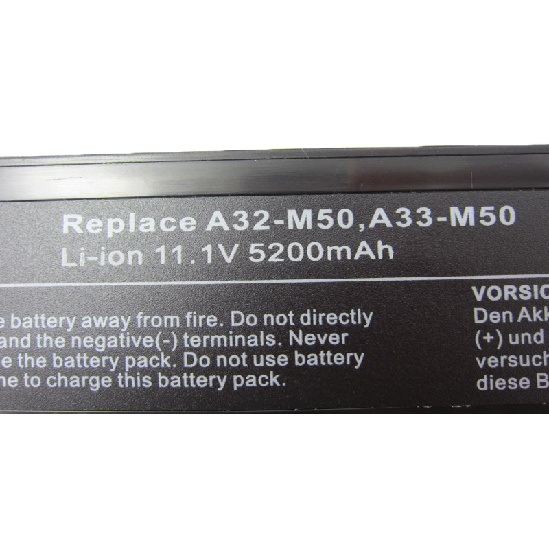 HSW Laptop Battery For ASUS A32 M50 A32 N61 A32 X64 A33 M50 M50 M60 N43 N43J N52A N53 N61 X55 X5M X64 X64J X64JV L07205 battery in Laptop Batteries from Computer Office
