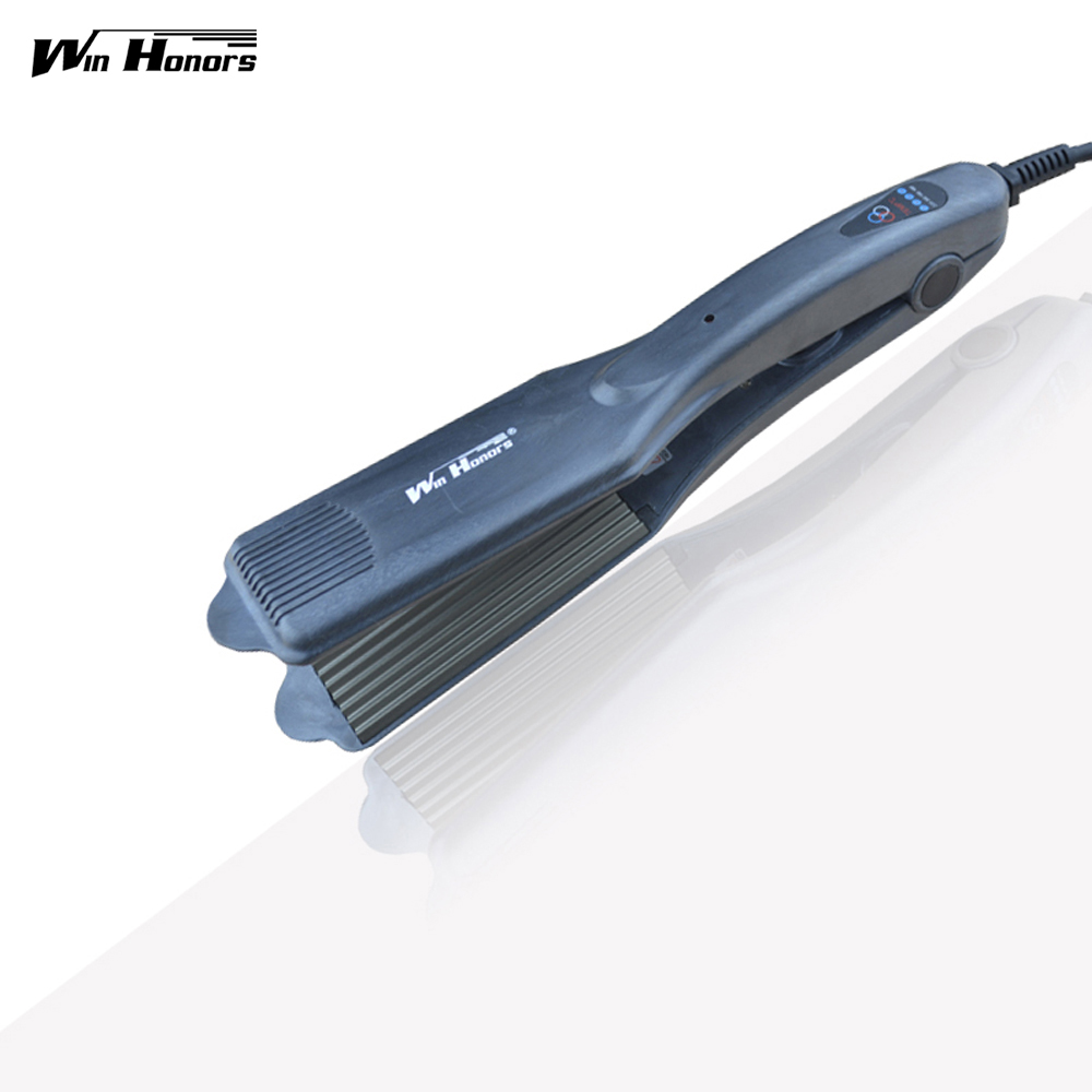 Professional Hair Straightener Waver Iron Corn Electric Hair Crimper Machine with EU/US/UK/AU Plug Hair Ripple good quality professional remington hair straightener s8590 keratin therapy digital straightener with smart sensor eu us plug