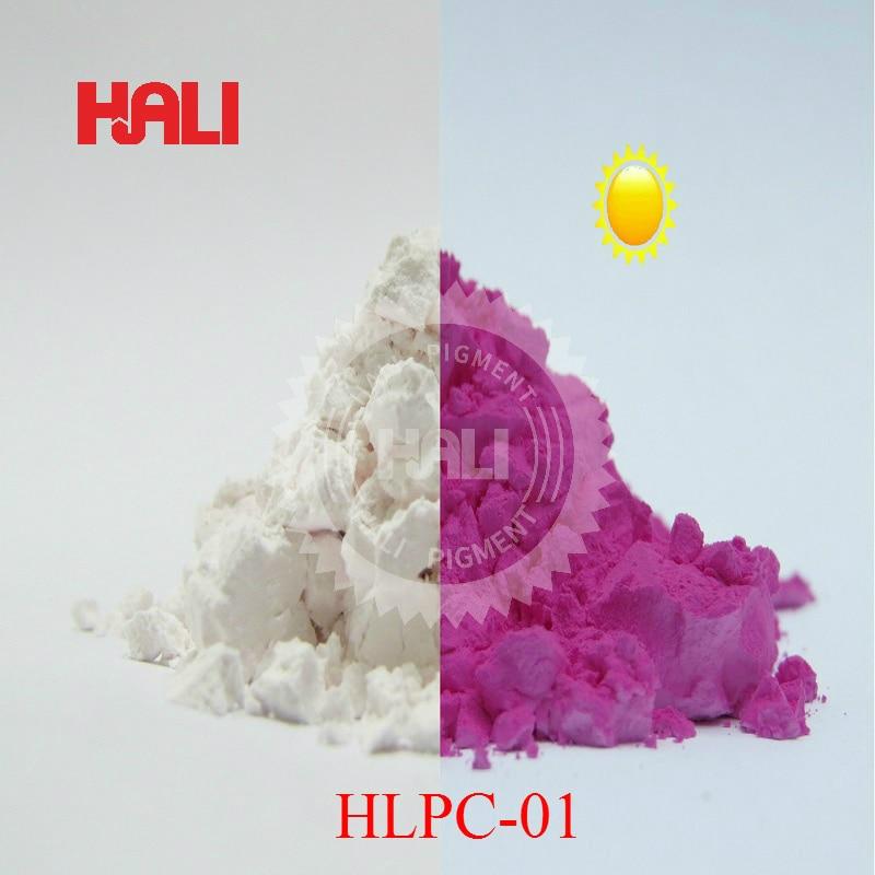 photochromic pigment sunlight sensitive pigment color change by sunlight or UV light color blue yellow purple