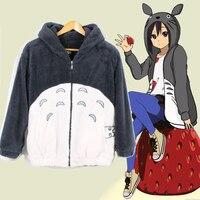 Tonari no Totoro Hoodie Women 2016 Autumn Casual Hooded Pullover 3d Harajuku Cartoon Totoro Sweatshirt Hoodies With Pocket