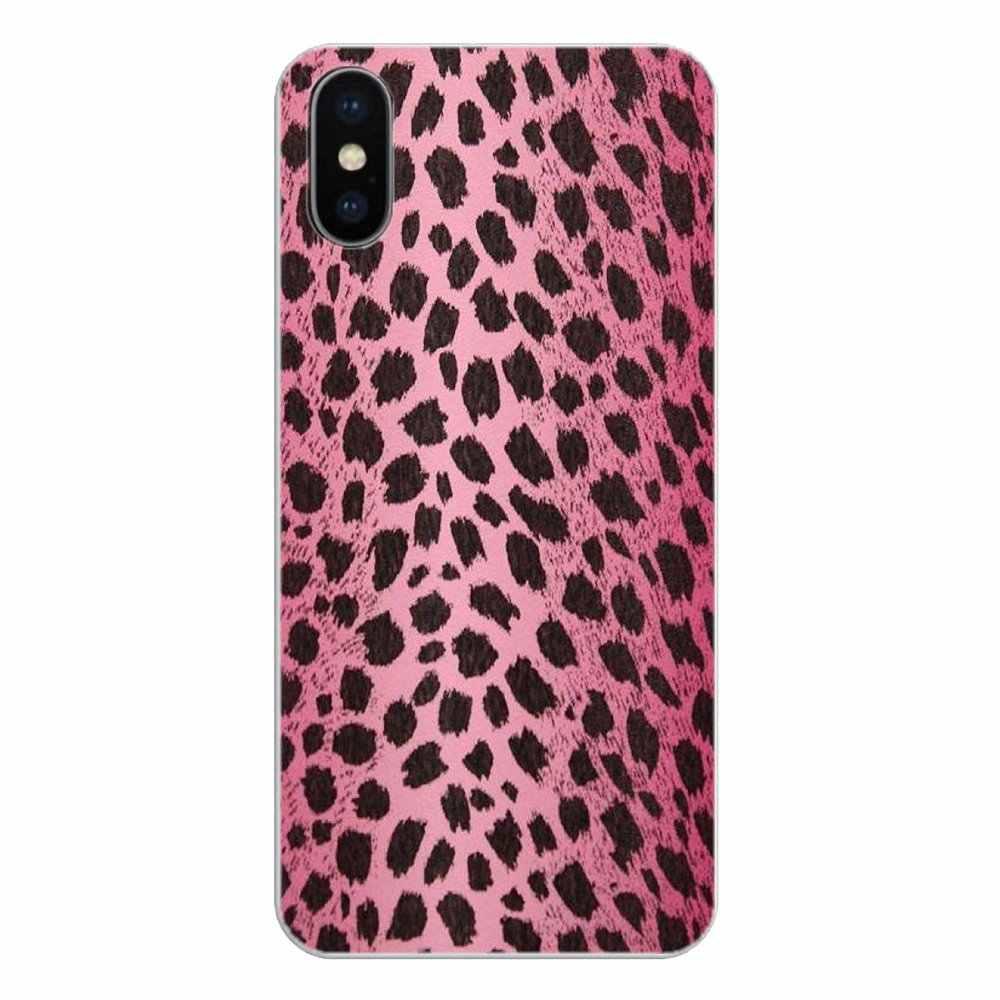 Черный и розовый Леопардовый арт коллаж печати силиконовый чехол для телефона для Xiao mi Red mi 4X S2 3S Note 3 4 5 6 6A Por Pocophone F1 mi 6