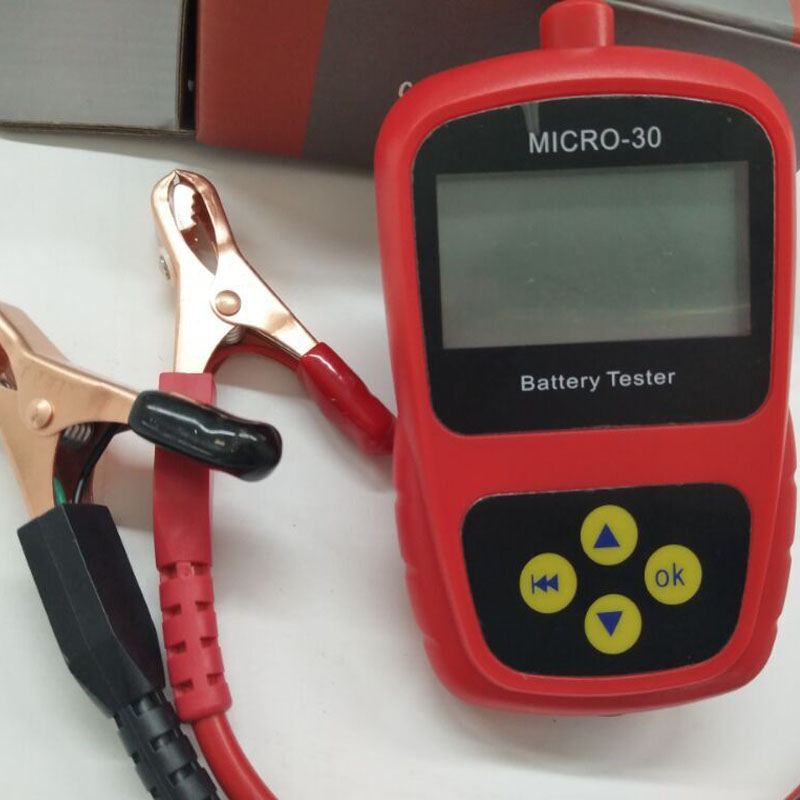 Hot selling LANCOL MICRO 30 Motorcycle Battery Tester Diagnostic Tool Battery Measurement Units CCA20 300 2