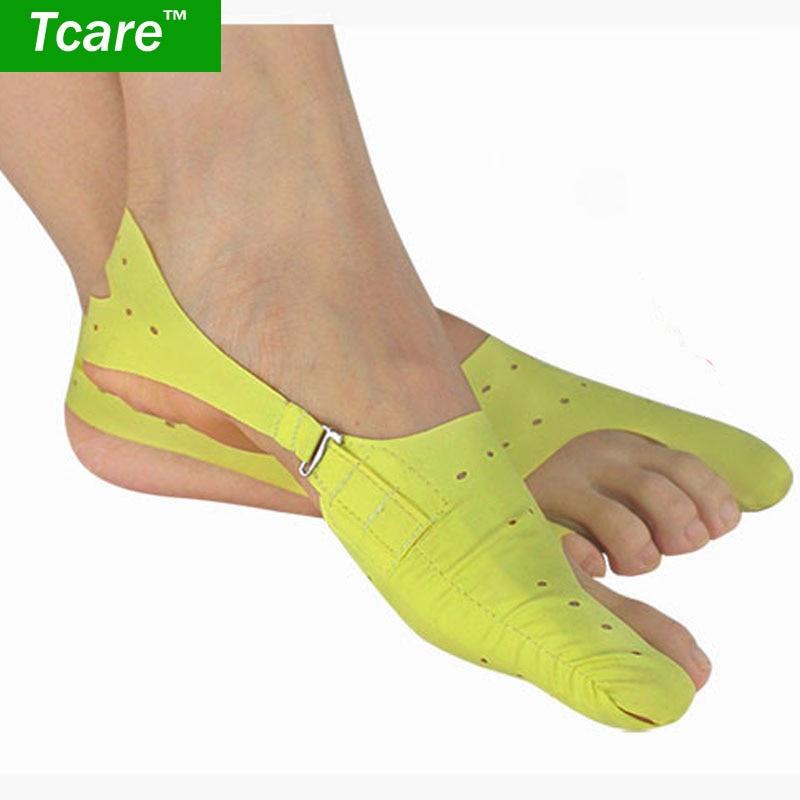 * Cuidado 1 par pie dedos Separador de dedos pulgar valgo protector Ajuste de juanete Guardia Hueso Cuidado de la salud