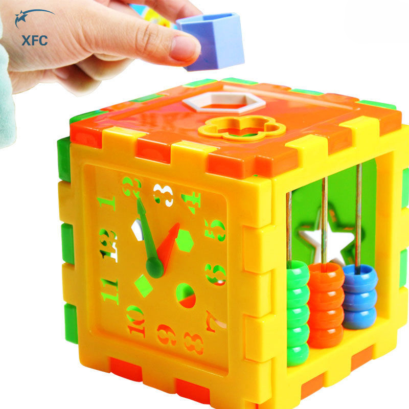 XFC Baby Children Matching Blocks Toy DIY Bricks Educational Play Games Animal Shape Alphabet Block Cube Toddler Kids Toy free shippin 1000g dynamic amazing diy educational toy no mess indoor magic play sand children toys mars space sand