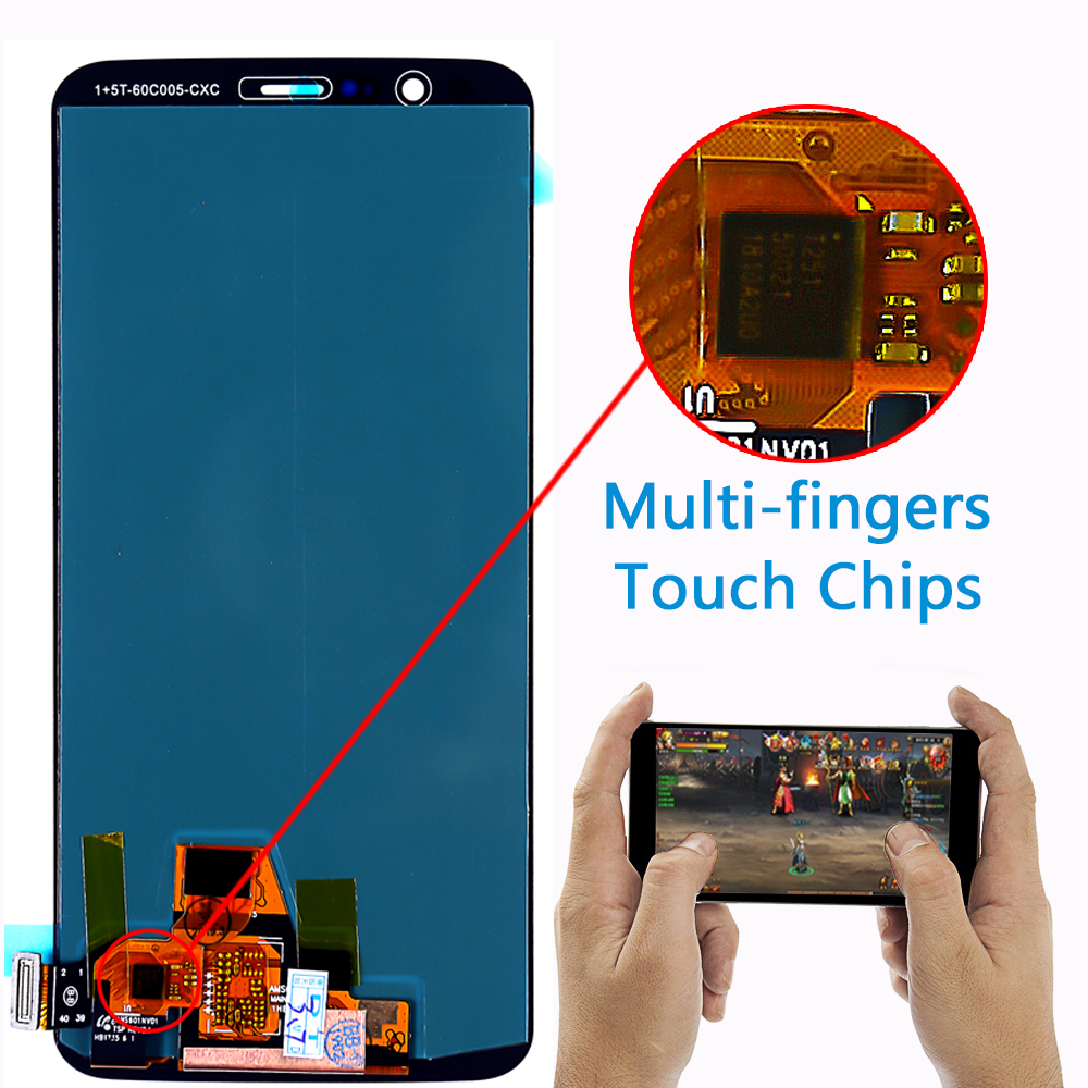AAA Amoled LCD Display For Oneplus 5T A5010 touch screen 2160*1080 Digitizer Assembly 6.01 inch Frame with Free Tempered Glass-in Mobile Phone LCD Screens from Cellphones & Telecommunications    3