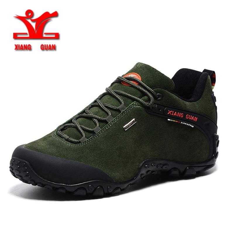 XIANG GUAN en plein air Hommes femmes Randonnée Chaussures anti-dérapage Tactique Bottes Escalade camping Trekking Marche Sneskers grande TAILLE 36 -48