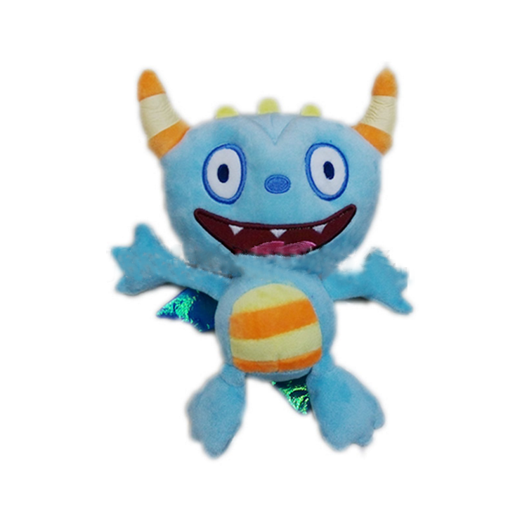 1 Pcs 22CM Cartoon Movie Henry Plush Toys Henry Mine craft Stuffed Animal Monster dolls kids Christmas gift