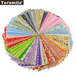 Fleur Conception Quilting Tissu Tissu Patchwork À Coudre pour Tecido Tilde Tissu 100% Coton Tissu 80 PCS/lot 20*24 cm Scrapbooking