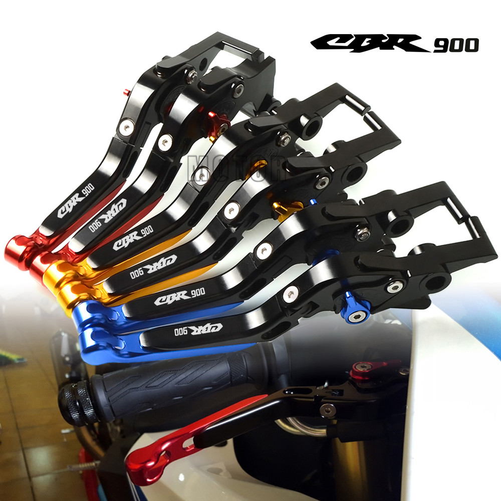 For Honda CBR900 92 97 CBR900RR 92 99 Motorcycle CNC Aluminum Adjustable Folding Extendable Brake Clutch
