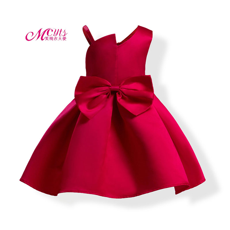 Summer Princess Dresses for Girls Sleeveless Wedding Party Dress Kids Clothes Fashion Girls Prom Dresses 3 4 5 6 7 8 9 10 Years