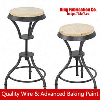 American Style Wrought Iron Chairs Office Chairs Desk Hotel KTV Bar - Liftable table