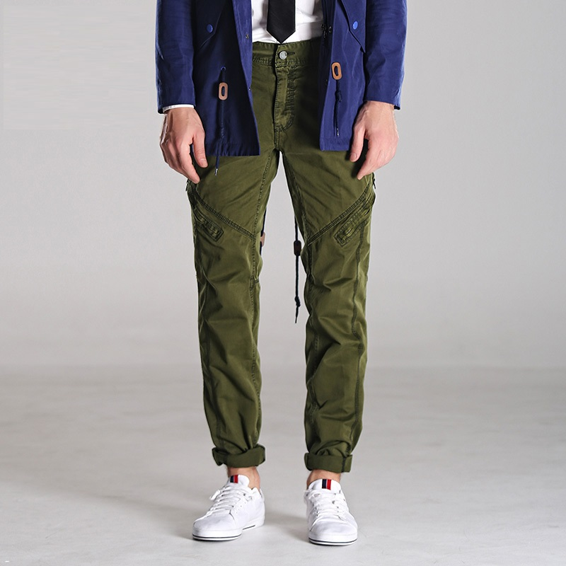 Dark Green Cargo Pants Promotion-Shop for Promotional Dark Green ...