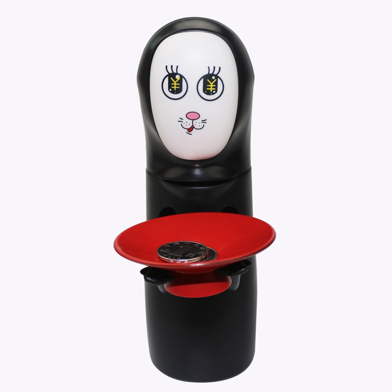Spirited Away Kaonashi No-Face Piggy Bank Toy Multi Stiles Miyazaki - Խաղային արձանիկներ - Լուսանկար 5