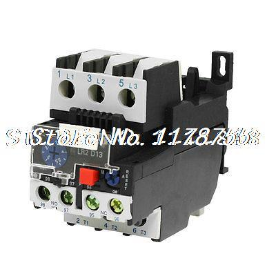 JR28-13 Manual Reset 3 Phase Motor Protection Thermal Overload Relay 2.5-4A delixi motor protector jd 5 1 80a phase 380v motor overload protection