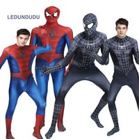 Spiderman costumes boy Spider-Man Kids Superhero 3D Lycra Zentai Suit Adult Men Women Jumpsuits for Halloween Christmas