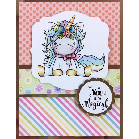 TPP Alpacas And Unicorns Clear Rubber Stamps/kids Clear Stamps And Dies For Scrapbooking/card Making/animal Stamp