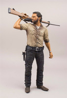 TV The Walking Dead Daryl Dixon Rick Grimes Deluxe Action Figure Figurne De Luxe Muneco De Lujo PVC Model Toy 10 25cm