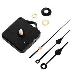 Creative Silent Retro Quartz Clock Movement Black Hands Mechanism Parts DIY