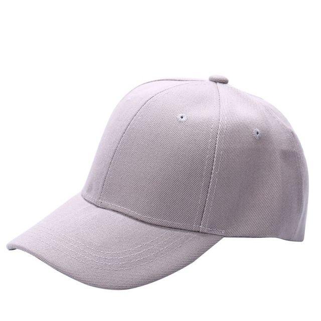 3a054d5d5042a Adjustable Blank Plain Solid Visor Baseball Army Cap Sun Ball Hat ...