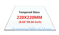 A Funssor Smartrap Reprap 3D Printer 220x220 Mm Build Plate Tempered Glass 3MM Thickness