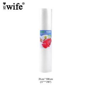 Image 4 - Iwife ואקום אוטם שקיות לאריזת מזון Vacum איטום פקר מכונת תיק 12 15 17 20 25 28 cm * 500cm 1 רול Dropshipping