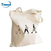 2016 New Women S Cloth Bag Canvas Shoulder Bags Simple Vintage Handbags Shopping Bags Big Ipad