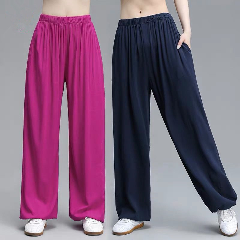 Summer Brand Thin Sport Pants Women Plus SizeTrousers Running Jogging Trousers,large Size Cotton Linen Pants 6xl 7xl