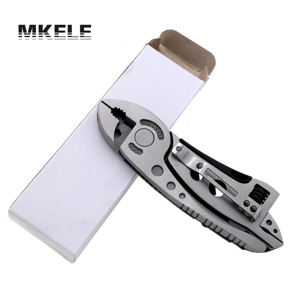 Outdoor Multitool Pliers Pocket Knife Screwdriver Set Kit Adjustable Wrench Jaw Spanner Repair Survival Hand Multi Tools Mini
