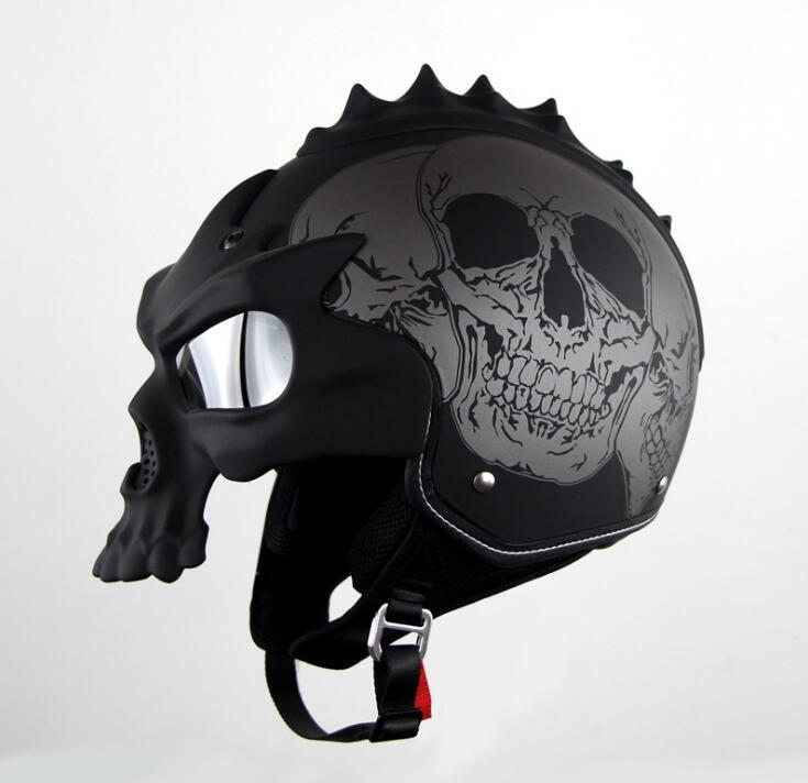 Motorcycle Summer Helmet Half Face Helmet Skull Helmet For Harley Motorcycles Many Design&Colors Available