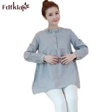 Fdfklak Women Casual Tops Long Sleeve Big Size Spring Autumn Sweet Pregnant Women Shirt Womens Clothing Maternity Clothes