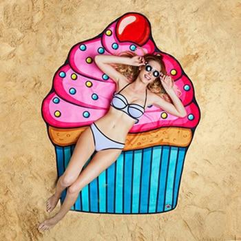 Hot Sales Bikini Beach Donut Cover Up Robe De Bain Swimsuit Cover Ups Pareos Beach Sarongs Mats Summer Beach Swimwear Women 2
