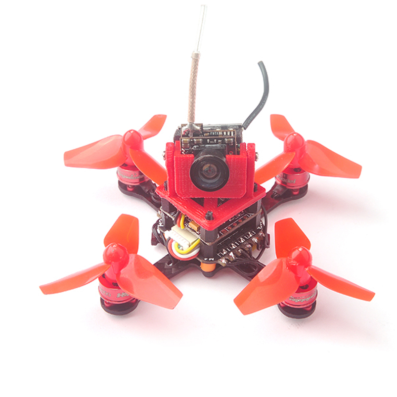 Trainer66 Mini 66mm 1S Drone PNP Kit w/ Flysky DSM/2/X Frsky Receiver Indoor FPV Racing Drone Unassembly x73 mini indoor fpv racing drone