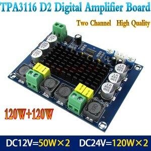 Image 2 - TPA3116D2 Đôi Máy Stereo Cao Cấp Âm Thanh Kỹ Thuật Số Khuếch Đại Công Suất Ban 2*120W XH M543
