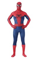 Classic Spider Man Costume Spandex Spiderman Cosplay Halloween Costume