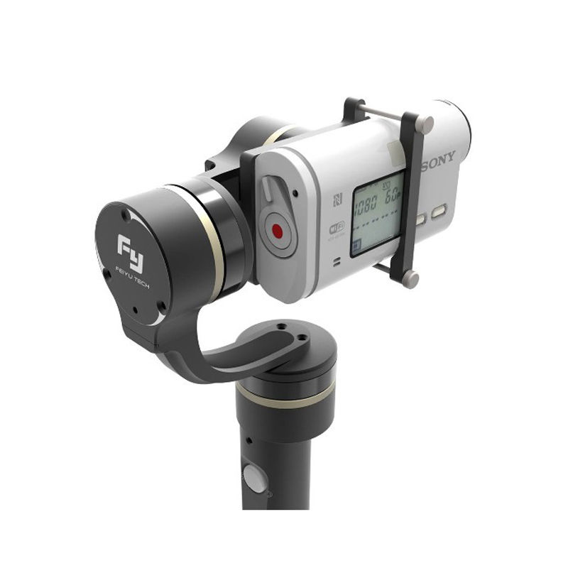 Feiyu G4 GS Handheld Gimbal stabilizer for Sony HDR AS20 AS100 AS200 X1000V free shipping feiyu tech g4 gs gimbal 3 axis brushless gimbal for sony hdr az1vr fdr x1000v as series sport auction camera