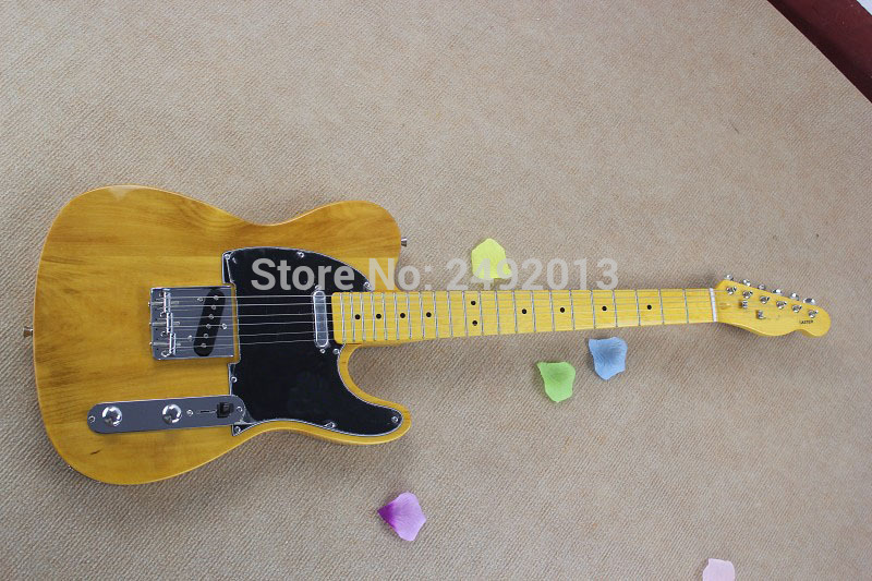 free shipping Top Quality Lower Price TELE Natural color Guitars Telecaster Electric Guitar in stockfree shipping Top Quality Lower Price TELE Natural color Guitars Telecaster Electric Guitar in stock