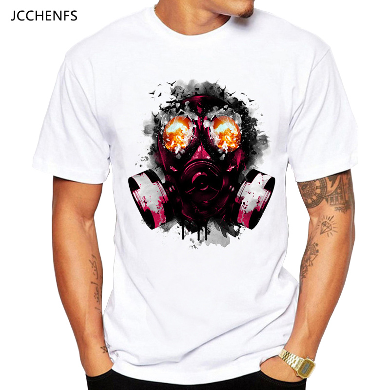 JCCHENFS 2018 Discount Sale Resident Evil Mens T-shirt Summer Fashion White Short Sleeve ...
