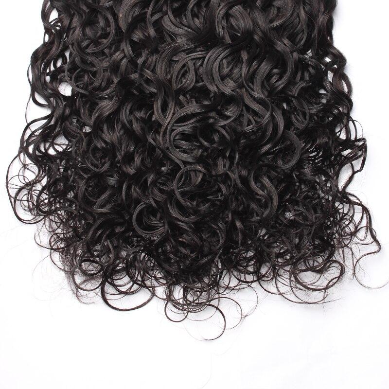 Vague d'eau cheveux humains armure paquets cheveux vierges brésiliens non transformés pour les femmes couleur naturelle Extension de cheveux CARA cheveux 3 pièces - 6