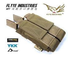 Flyye Molle MP7 Double Buka Majalah Pouch Militer Cordura FY-PH-M027(China)