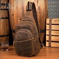 Большой Ёмкость человека груди мешок Повседневное Crossbody сумки для Для мужчин Высокое качество Натуральная кожа ремень сумки для короткой п