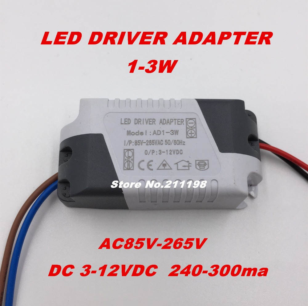 1 3w dc3 12v isolated led driver with bulb power supply external