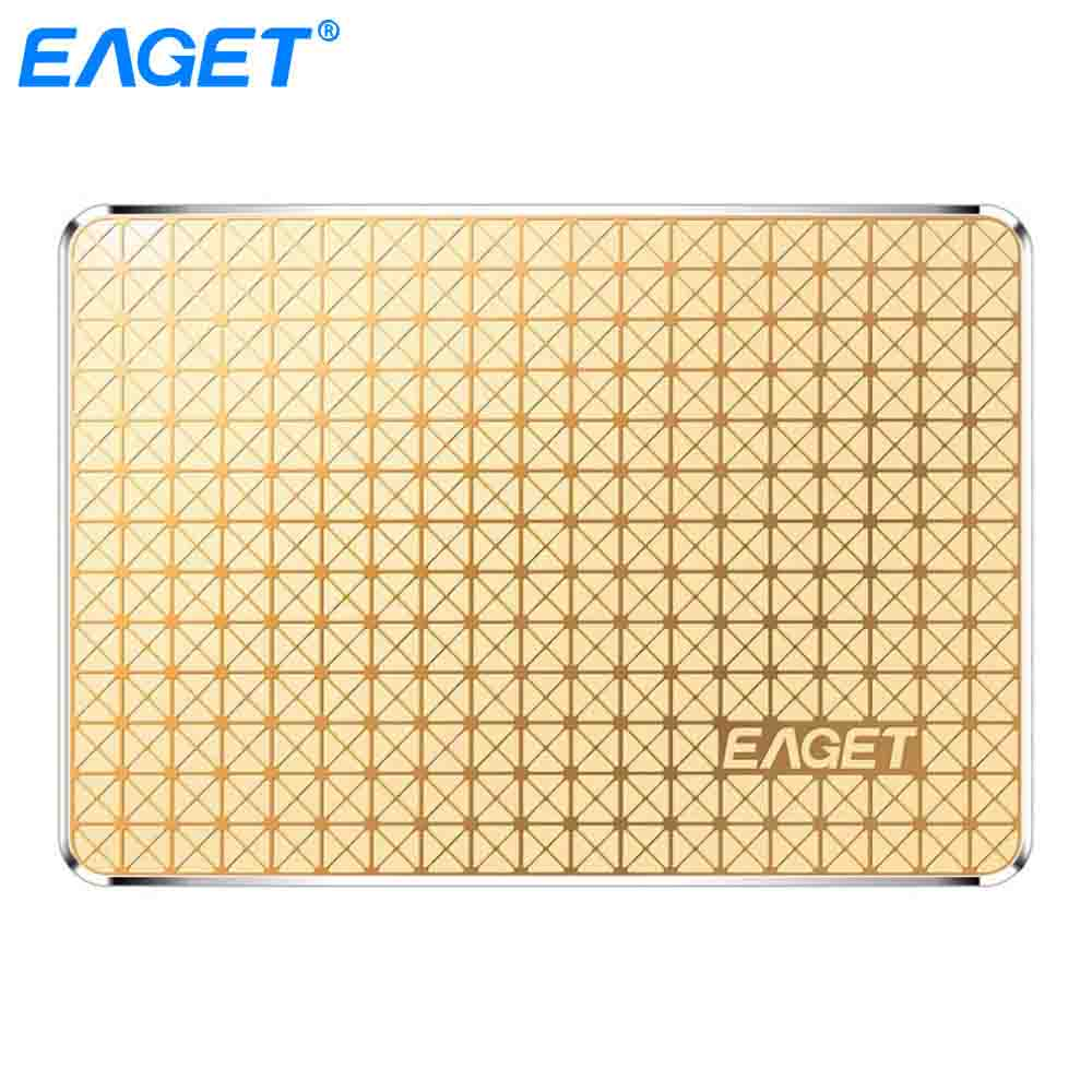 Eaget S606 SSD 120GB 240GB Internal Solid State Drive 2.5 inch SATA III HDD Hard Disk HD SSD 120G TLC for Laptop Notebook PC-in Internal Solid State Drives from Computer & Office