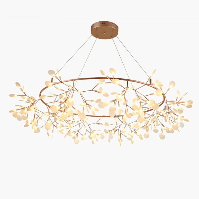 Arte Creativo diseñador araña árbol hoja vintage Lámparas LED accesorios bertjan pot lámpara de suspensión Home Iluminación