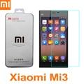 Xiaomi mi3 100% original de alta calidad de protector de pantalla de cristal templado accesorio para m3 mi 3 película teléfono celular + free gratis