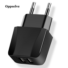 Oppselve USB Charger 5V/2.4A For iPhone 8 X XS iPad Smart Wall Samsung Galaxy S9 LG G5 Dual Mobile Phone
