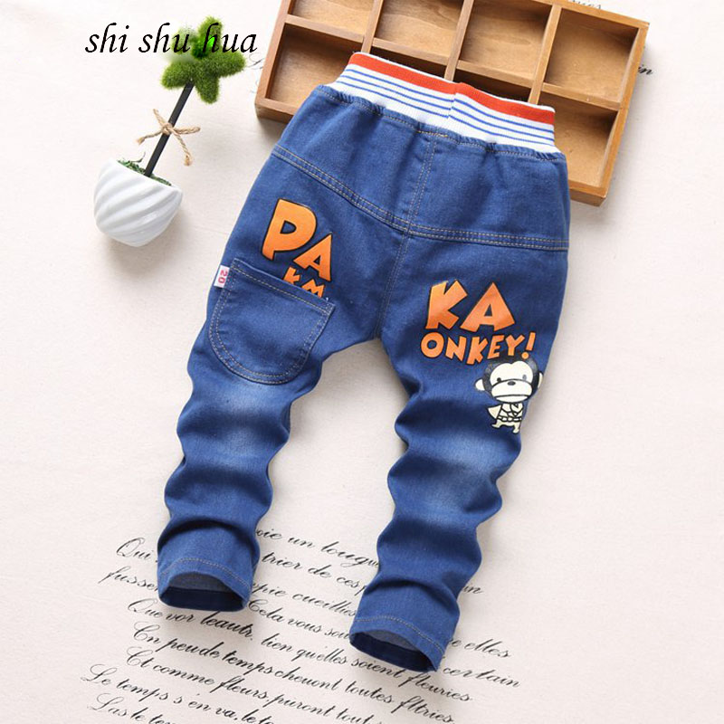 2017-spring-and-autumn-season-childrens-clothing-fashion-jeans-cartoon-printing-2-5-years-old-boys-and-girls-clothes-kids-pants-1