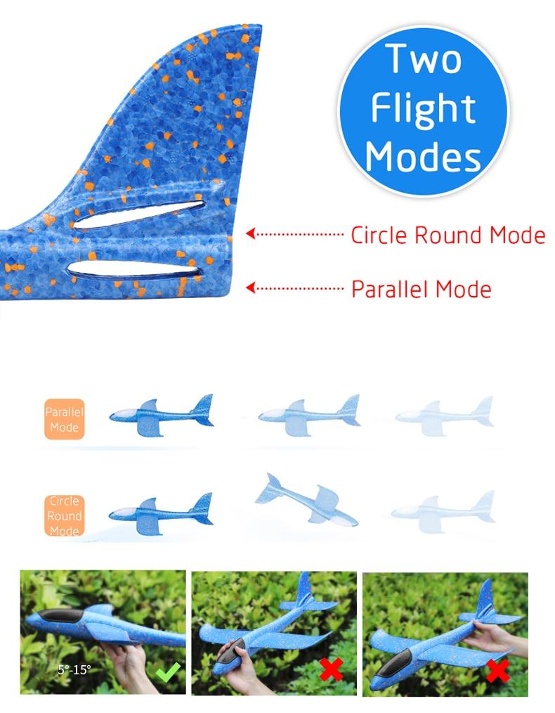 48 CM Hand Launch Airplane Glider 13