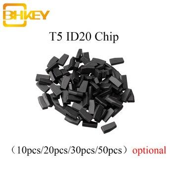 keyyou 10x car key glass transponder id48 id 48 chip t6 crypto unlocked chip for vw audi seat skoda porsche BHKEY 5X 10X 20X 50X T5-20 Chip Transponder Blank Carbon ID T5 For Auto Car Key Cemamic Car Key Chip